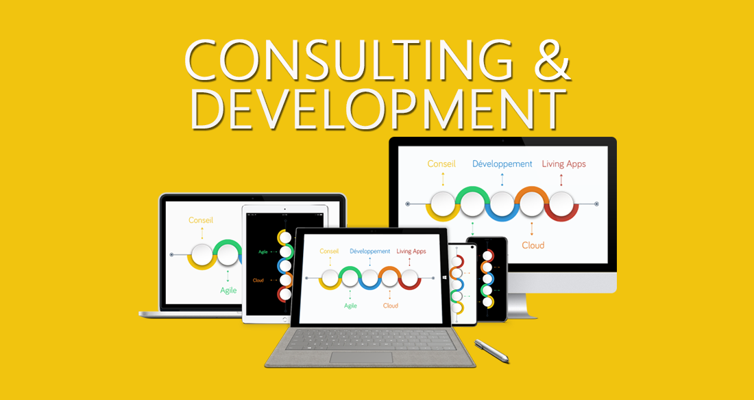 Consulting & Development of customized digital and mobile solutions : the 3E principle, ideas 3E, audit & consulting 3E, standalone apps 3E, integrated apps 3E, digital 3E platforms: iOS, Android, Windows, PHP, .NET, cloud, etc.