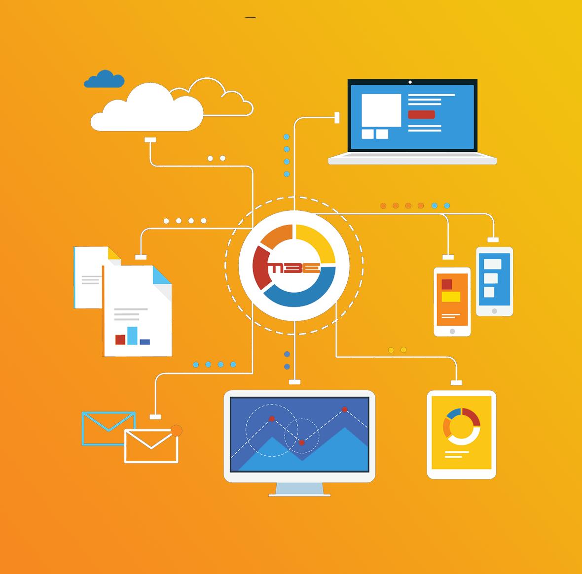 Plus d'information sur les plateformes digitales 3E, qui intègrent dynamiquement des Data des fournisseurs, des Business Partners et des clients pour accélérer la vitesse d'échange d'information